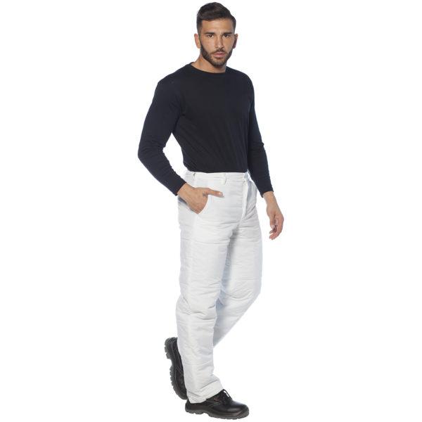 Pantalone imbottito impermeabile per cella frigorifero