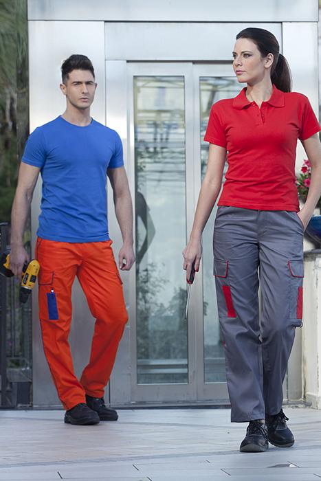 Pantalone lavoro multitasca estivo unisex