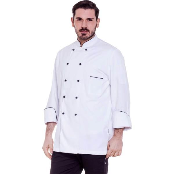 Giacca cuoco con profili