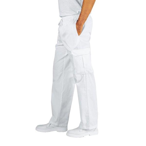 Pantalone-Chef-Bianco