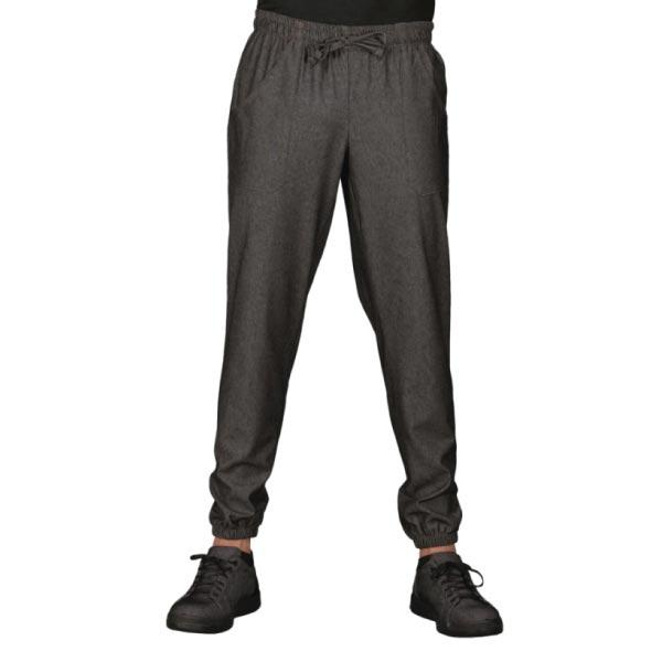 Pantalone Chef Nero con Elastico