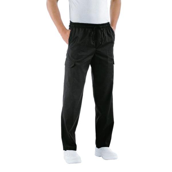 Pantalone Chef Nero