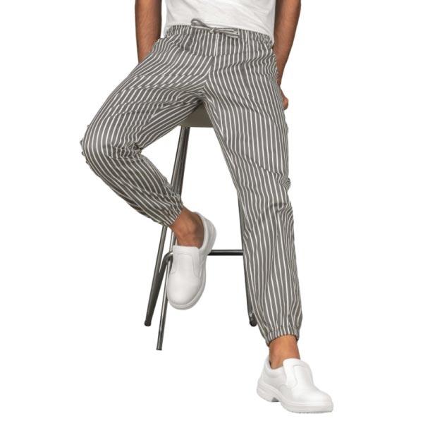 Pantalone-Chef-a-righe-con-Elastico