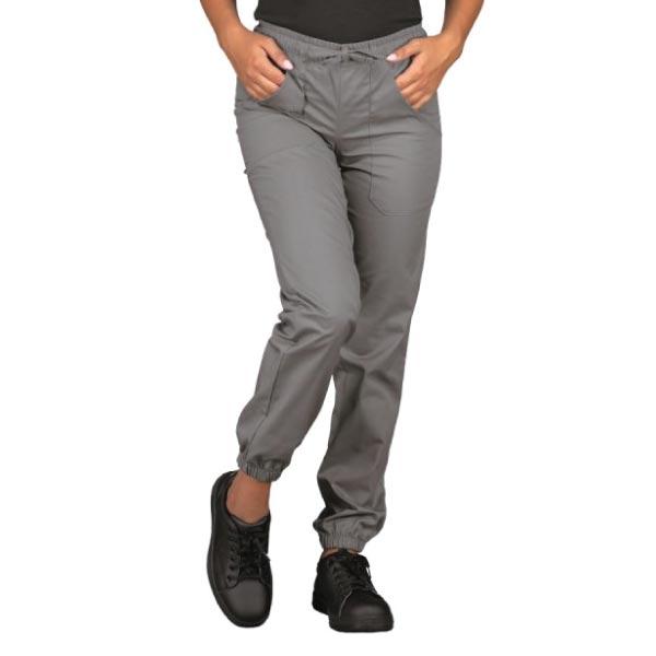 Pantalone Chef Grigio con Elastico