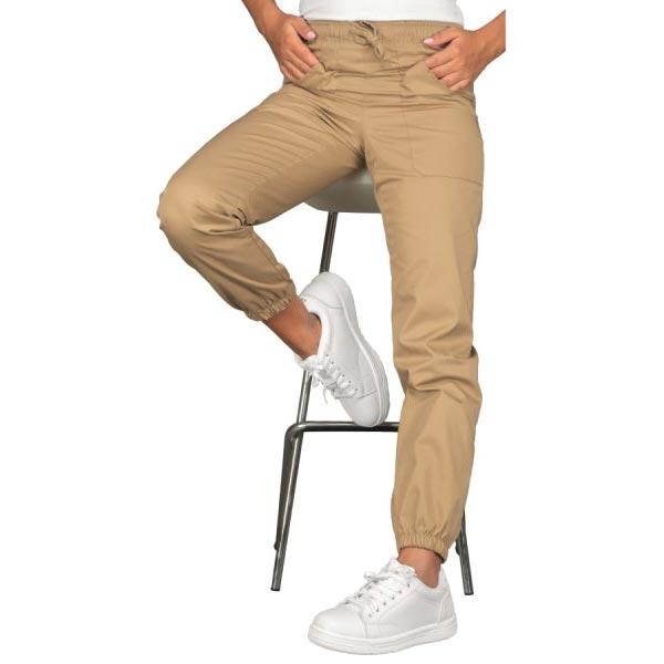 Pantalone Chef Beige con Elastico